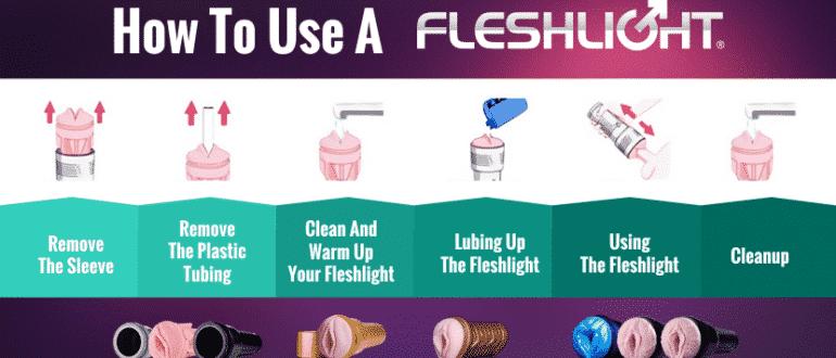 how to use fleshlight correctly